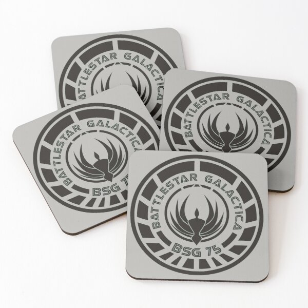 Battlestar Galactica Crest (BSG-75) Coasters (Set of 4)