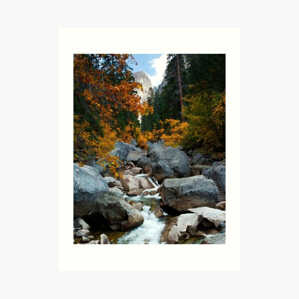 Autumn at Yosemite Art Print