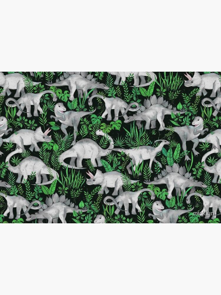 Dinosaur Jungle by micklyn