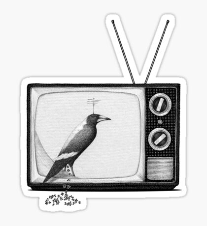 Sh*t TV Sticker