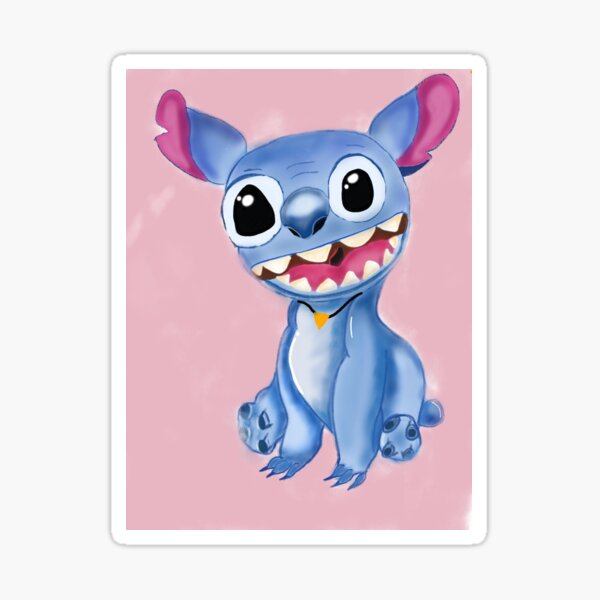 silly stitch iPhone Case & Cover Sticker