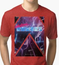 Electronic Rumors: Triangles Tri-blend T-Shirt