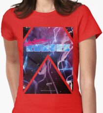 Electronic Rumors: Triangles Womens Fitted T-Shirt