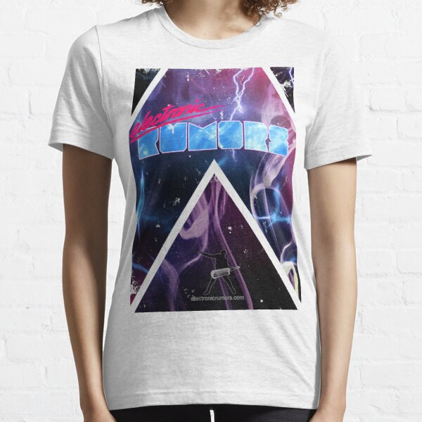 Electronic Rumors: Triangles Essential T-Shirt