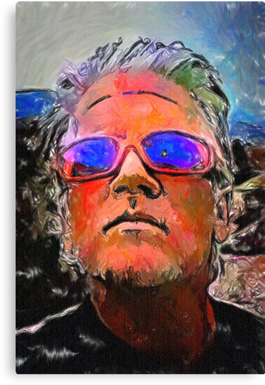 Wyatt's Mirrored Shades by David Rozansky