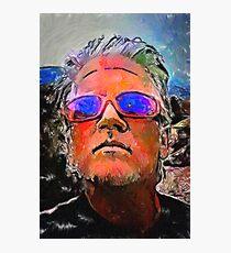 Wyatt's Mirrored Shades Photographic Print