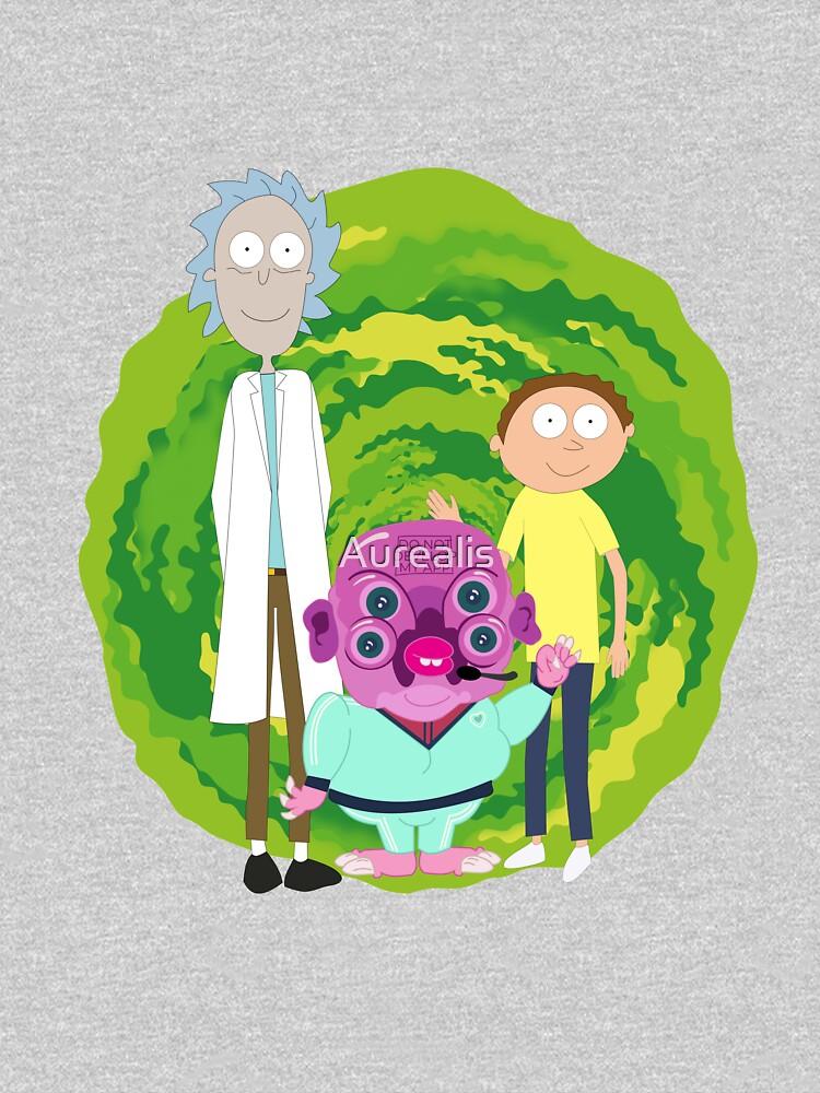 Glootie, Rick & Morty by Aurealis