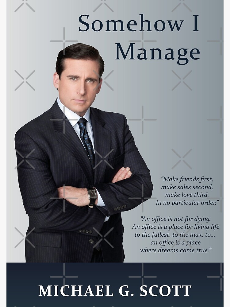 Somehow I Manage - Michael Scott by MarcoPolok