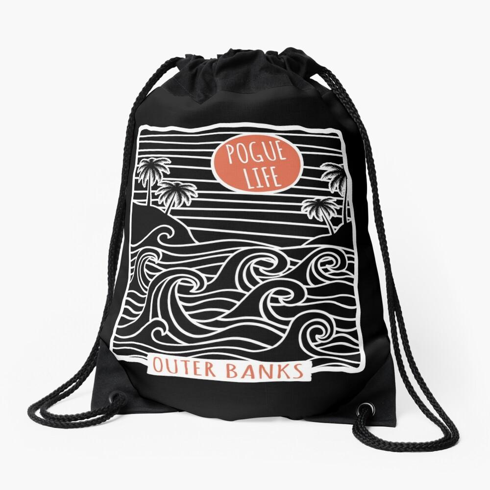 Pogue Life Outer Banks OBX Drawstring Bag