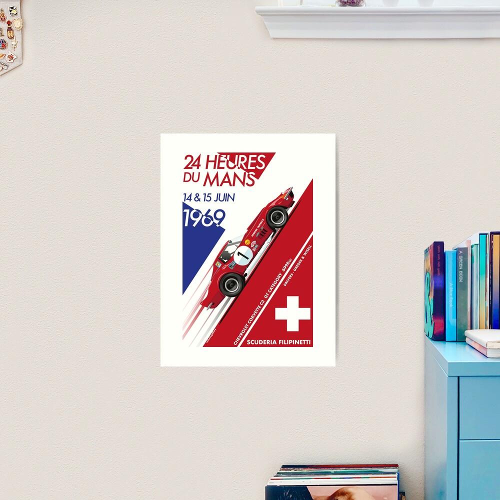 Le Mans 24 Hour 1969 Number 1 Art Print