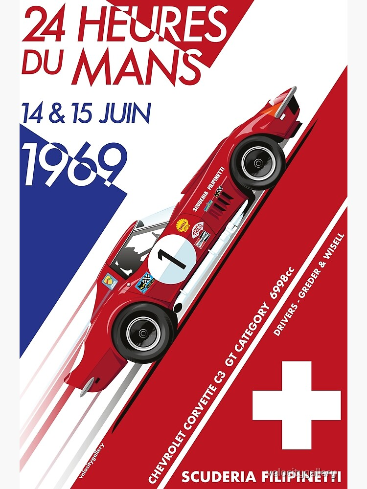 Le Mans 24 Hour 1969 Number 1 by velocitygallery