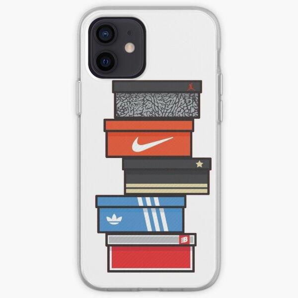 caja de zapatillas Funda blanda para iPhone