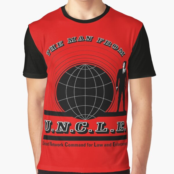 The Man from Uncle Graphic T-Shirt