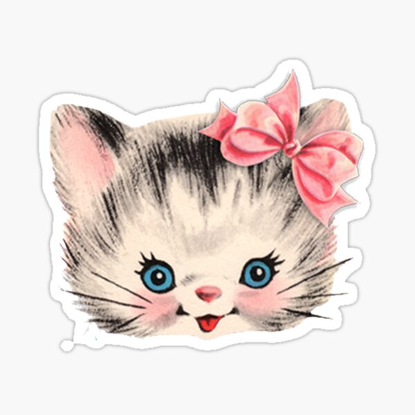 Kitsch - Kitten Sticker