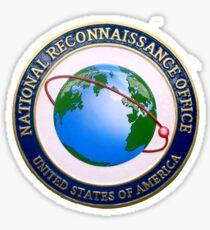 National Reconnaissance Office (NRO) Logo Sticker