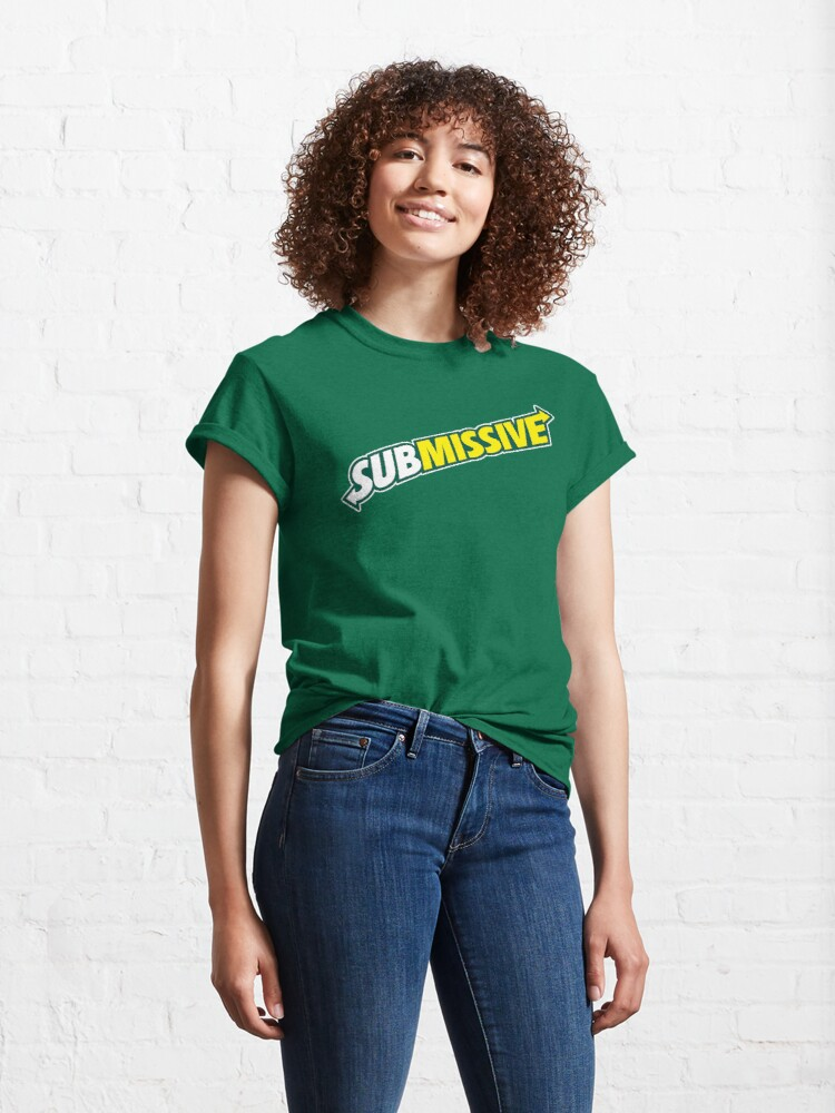 Alternate view of SUBmissive Classic T-Shirt