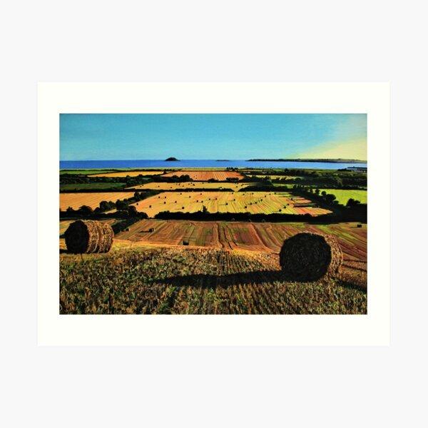 Autumnal View Of Garryvoe Art Print