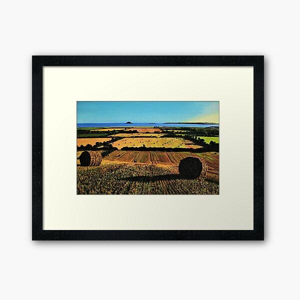 Autumnal View Of Garryvoe Framed Art Print