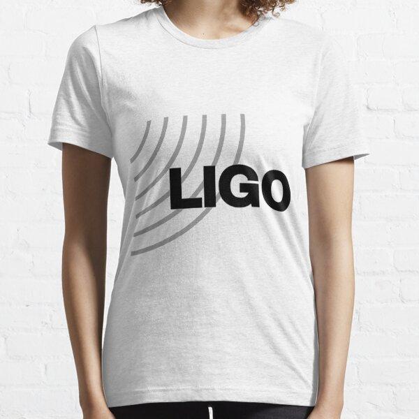 Laser Interferometer Gravitational-Wave Observatory (LIGO) Logo Essential T-Shirt