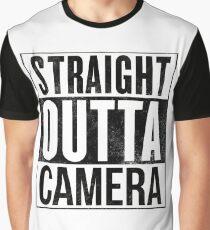 Straight Outta Camera Graphic T-Shirt
