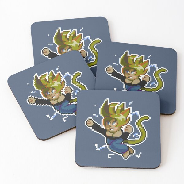 Manyland BattePhil by Dion Coasters (Set of 4)