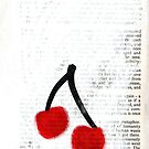 Cherries iPhone Case by zoe trap