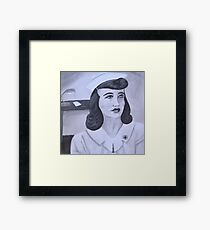 WWII Nurse Framed Print
