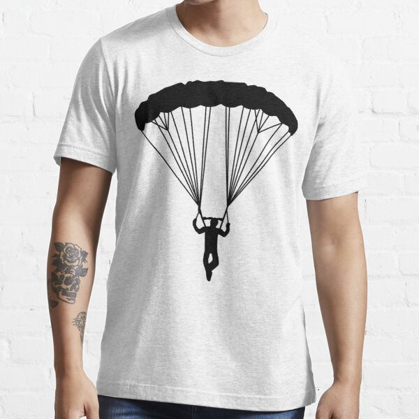 skydiver silhouette Essential T-Shirt