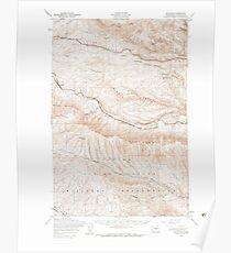 USGS Topo Map Washington State WA Boylston 240201 1953 62500 Poster