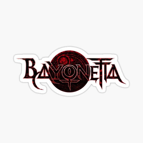 Bayonetta Logo Sticker