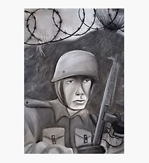 WWII Soldier Photographic Print
