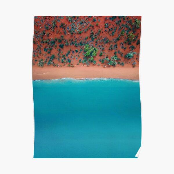 Broome Australian Beaches | Aerial  Poster