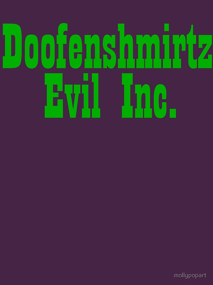 Doofenshmirtz Evil Inc. - GREEN | Unisex T-Shirt