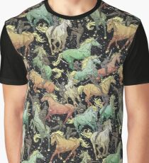 Ninjas+Unicorns Graphic T-Shirt