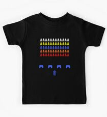 Time and Space Invaders Kids Tee