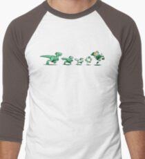 The Evolution of Revenge Men's Baseball ¾ T-Shirt