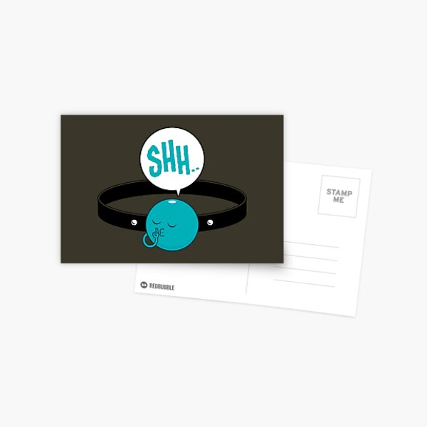 Shh.. Postcard