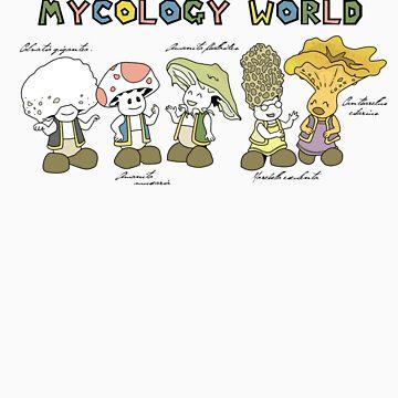 Super Mycology World by Blu3vib3