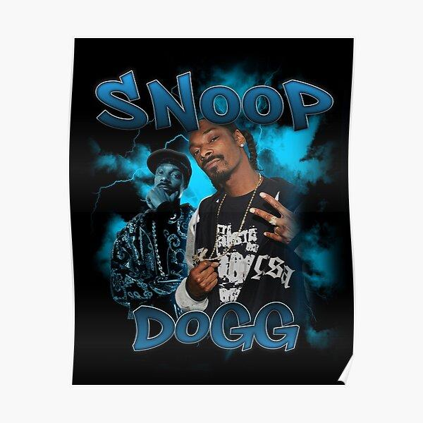 Snoop Dogg Vintage Bootleg des années 90 Poster