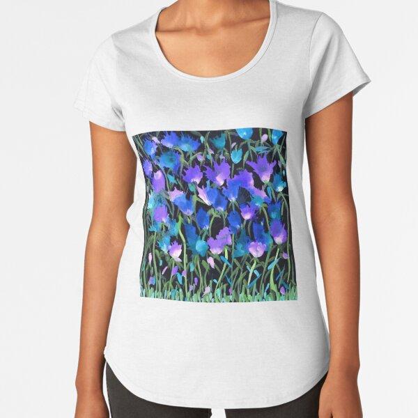 Joyful Blooms Premium Scoop T-Shirt