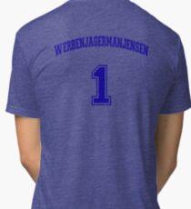 He Was #1 Tri-blend T-Shirt