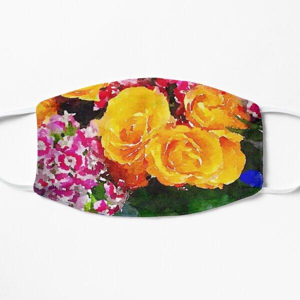 Watercolor Bouquet Flat Mask