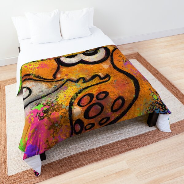 Splatoon - I've Got an Inkling Comforter