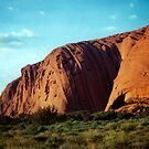 Ayres Rock (Uluru). Northern Territory, Australia. (2) by Ralph de Zilva