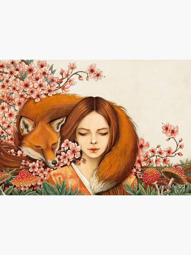 Totem des roten Fuchses. von LorenAssisi