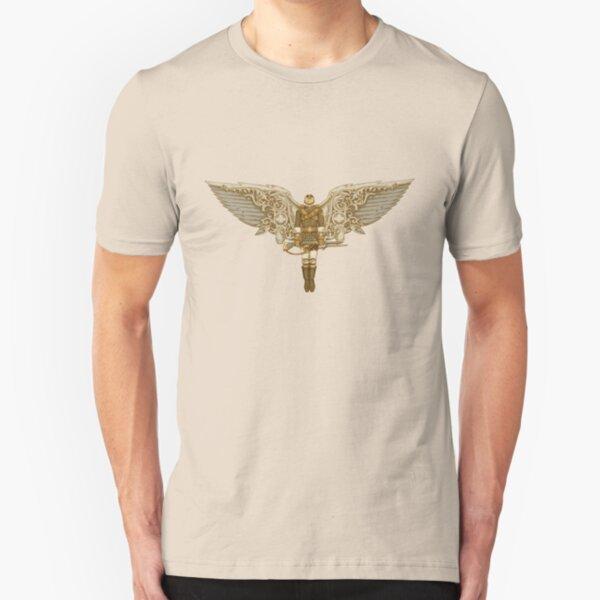 Steampunk T-shirt Peregrine 1 Slim Fit T-Shirt