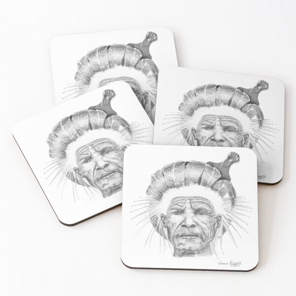 The Sun Queen Coasters (Set of 4)