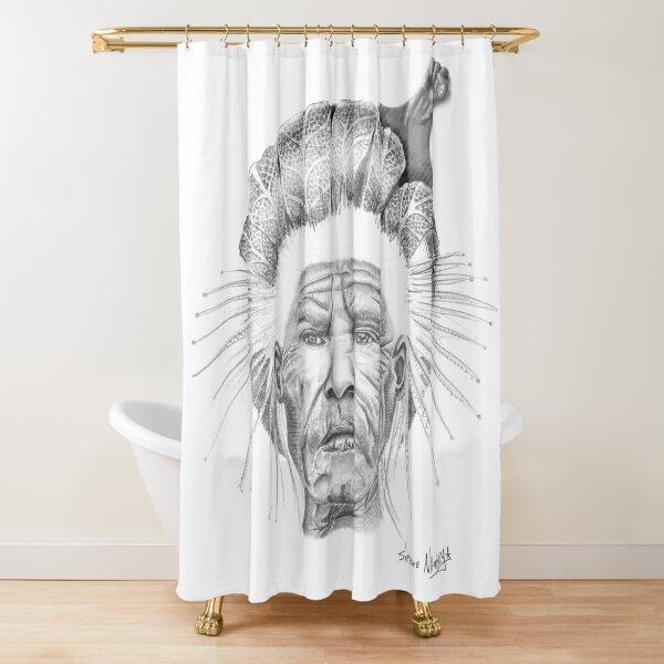 The Sun Queen Shower Curtain