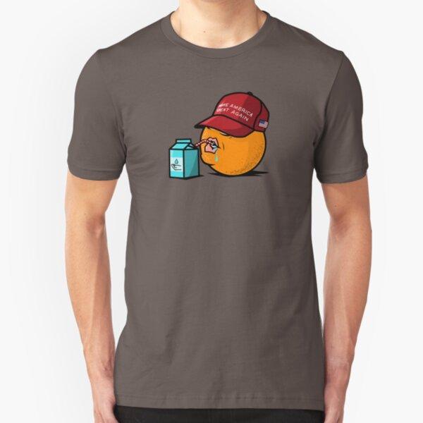 Stupid Orange Slim Fit T-Shirt