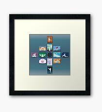 Yoga Art Series Framed Print